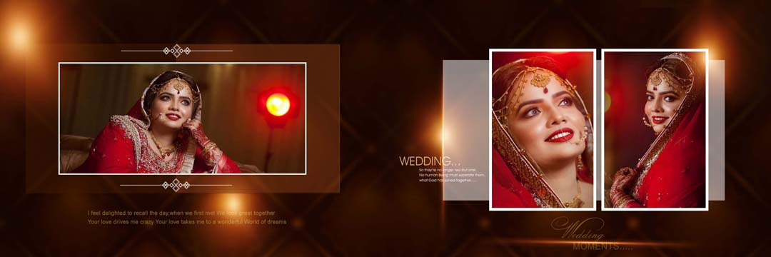 Wedding Album Creative Design