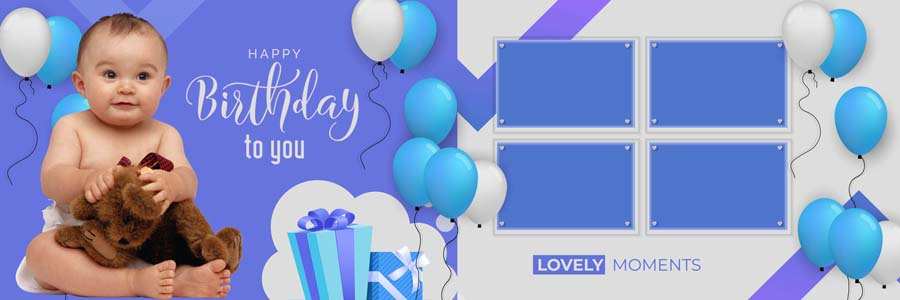 100 New 2020 Birthday Photo Album PSD Design