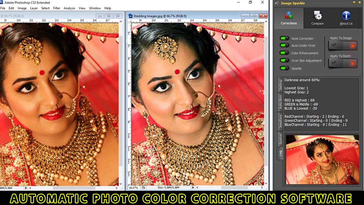 Automatic Photo Color Correction Software